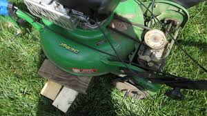 john deere js63c lawn mower service transmission self propelled