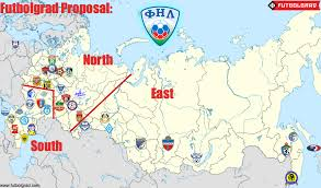 russia football map football national league reforming russia s second division