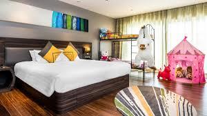 Family Bedroom Deluxe Family Room Novotel Phuket Karon Beach Resort And Spa