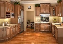 oak kitchen ideas oak kitchen cabinets wood floors light with lighting