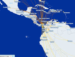 Coast Starlight Route Map by Hacking The United Airlines Caribbean Hopper Award Focused Flyer