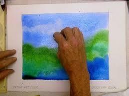 watercolor technique to lift erase u0026 remove wet paint