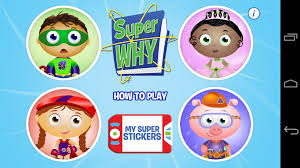 super why from pbs kids review educational app store