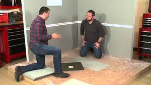 how to install flor carpet tiles youtube