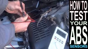 toyota corolla abs light on abs light on how to test abs sensor with multimeter car repairs