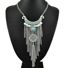 turquoise necklace silver chain images The best turquoise jewelry online jpg