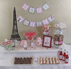 parisian baby shower chic baby shower diy party printables package pink green