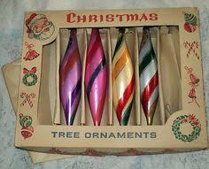 large vintage glass christmas ornament vintage christmas