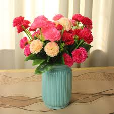 Flowers Decoration For Home Compare Prices On Red Carnation Bouquets Online Shopping Buy Low