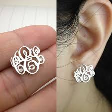 Monogrammed Earrings 25 Legjobb ötlet A Pinteresten A Következővel Kapcsolatban