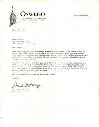 perfect academic award letter example with college logo letterhead