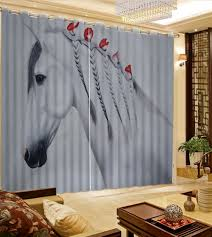 online get cheap horse bedroom curtains aliexpress com alibaba
