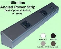 task lighting apt series slim line angled power strip