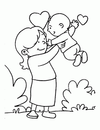 mother coloring pages printable mothers day coloring sheets printable coloring home