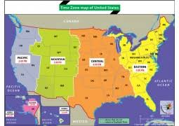 us map divided by time zones united states map showing states and cities maps of usa maps of