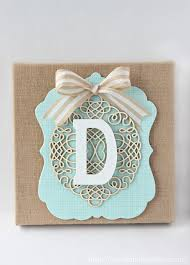 Home Decor Initials Letters Stylish Monogrammed Wall Decor