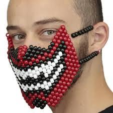 kandi mask teeth kandi mask kandi gear