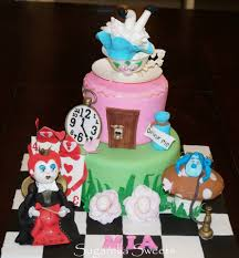cake decorating tutorial how to make alice in wonderland fondant