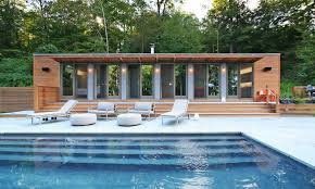 the connecticut pool house