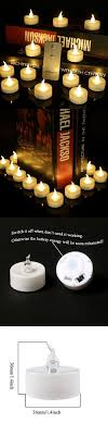 outdoor led tea lights frestree flameless remote led tea lights candles battery operated