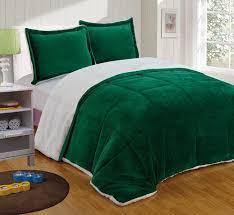 Home Classics Reversible Down Alternative Comforter Sherpa Reversible Down Alternative Comforter Set King Hunter