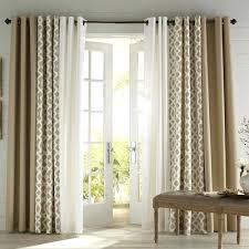 Window Treatment For Patio Door Patio Door Curtain Ideas 3 Coordinating Door Patio Door Window