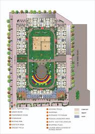 floor plan of 1bhk flats in chakan dwarka township