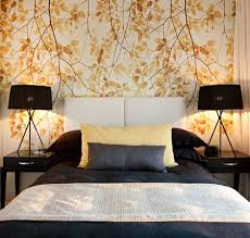Impressive Bedroom Wallpaper Designs Of  Ways To Liven Up Your - Wallpaper design for bedroom