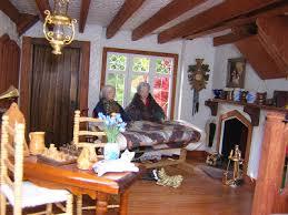 Tudor Cottage Interiors Dollhouses By Robin Carey The Tudor Cottage