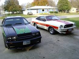 1980 mustang cobra 1980 black with green decals 1978 mustang cobra ii white with