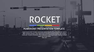 rocket powerpoint presentation template by creativesolutionsdesign