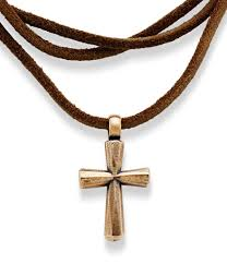 multi stone cross necklace images Women 39 s necklaces dillards jpg