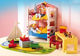 playmobil chambre parents playmobil 5333 chambre des enfants avec lits achat vente