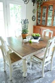 Painted Dining Table Ideas Painted Dining Table Ideas White Painted Dining Room Furniture