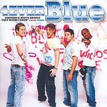 blue photo album 4ever blue