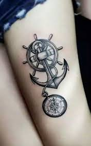 Nautical Map Tattoo Best 20 Vintage Compass Tattoo Ideas On Pinterest Compass