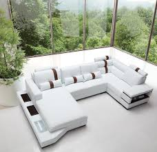 Cheap White Leather Sectional Sofa Massimo Modern White Leather Sectional Sofa Leather Sectional