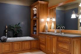 Bathroom Vanities Oak Adorable Oak Bathroom Cabinets Houzz Of Best References Home