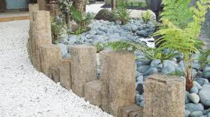 decorative garden edging stones home design