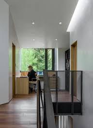 hallways interior design idea 13 examples of desks in hallways contemporist