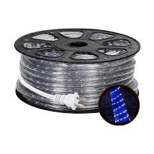 waterproof 150ft blue led indoor outdoor rope lights le