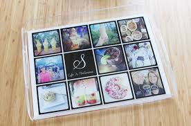 personalized photo serving tray i instagrammed my walls with shutterfly frugal beautiful