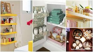 Storage Ideas For Bathroom Diy Bathroom Storage Ideas