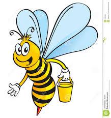 cartoon drawing honey bee honey bee clipart clipart kid