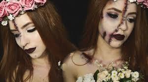 corpse zombie bride halloween makeup tutorial amanda oliveira