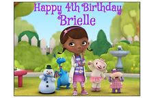 doc mcstuffins edible image doc mcstuffins party supply cake toppers ebay