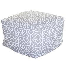 Bean Bag Ottoman Bean Bag Footstools Large Ottomans Patio Tables Majestic