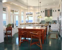 kitchen style green ceramic flooring tropical kitchen design