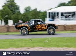baja truck racing jesse james baja style trophy truck at the goodwood festival of