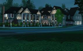 traditional modern mansion the sims 3 building walkthrough youtube